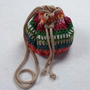 The SAK Crotcheted Boho Bag